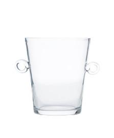 Balde para gelo 24 cm vidro transparente
