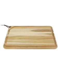 Tábua para churrasco 60x36 cm madeira tramontina