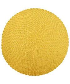 Lugar americano 38 cm tress amarelo tyft