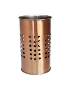 Porta utensílios para cozinha cobre aço inox
