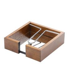 Porta guardanapo aramado 15 cm woodart