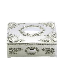 Porta jóias noelle zamac 12,2x9,9 cm prestige