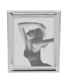 Porta retrato aço 13x18 cm prata ROYAL DECOR