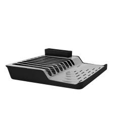 Escorredor de pratos minimal preto brinox