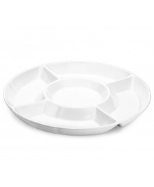 Petisqueira melamina branca 35 cm haus concept