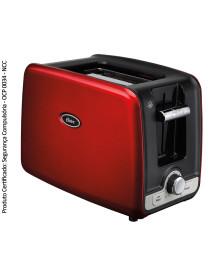 Torradeira square retro vermelha oster 127v
