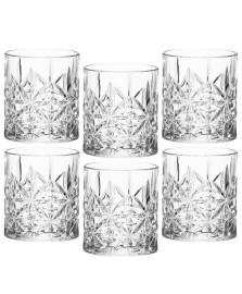 Jogo 06 copos baixos 330 ml vidro dynasty