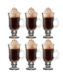 Jogo 06 canecas p/ café irlandês 284 ml hauskraft