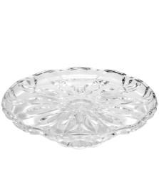 Prato para bolo c/ pé 31 cm cristal blossom wolff