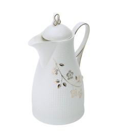Garrafa térmica 650 ml porcelana flores wolff