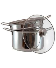 Espagueteira em aço inox 4.8 l hauskraft