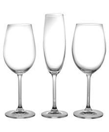 Jogo 18 taças cristal gastro bohemia