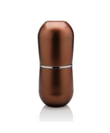 Porta-escovas com tampa belly vintage bronze