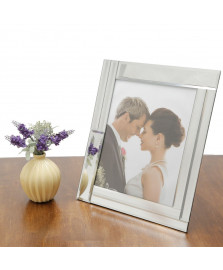 Porta retrato 15x20 cm em vidro espelhado