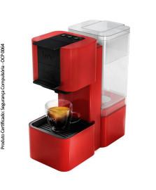 Cafeteira s26 pop vermelha tres corações 127v