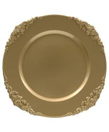 Sousplat galles barroco ouro copa&cia
