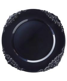 Sousplat galles barroco azul marinho copa&cia
