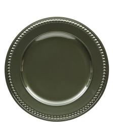 Sousplat galles dots verde musgo copa&cia