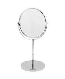 Espelho de aumento com base inox  mimo