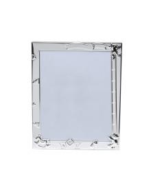 Porta-retrato 13x18 cm aço baby prata prestige