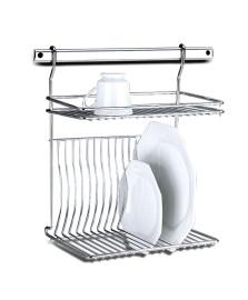 Escorredor de pratos top pratic aço brinox