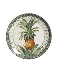 Prato sobremesa coup pineapple green porto brasil