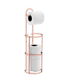 Suporte p/ papel higiênico aço rosé gold future