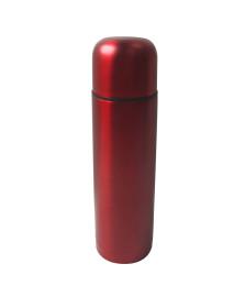 Garrafa térmica 500 ml aço inox vermelha dynasty