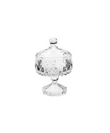 Potiche decorativo de cristal louise transparente 11 x 18 cm Wolff