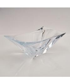 Centro de mesa  okinawa em cristal ecologico 27 x 16,5 cm