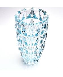 Vaso medio diamond 15 x 28 cm bohemia