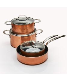 Conjunto panelas 04 pcs copper brinox