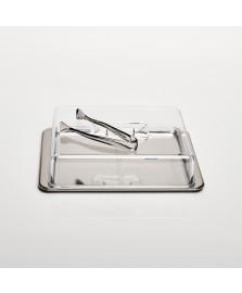 Conjunto para frios 03 peças atina brinox