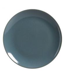 Prato raso Coup Stoneware Lazuli