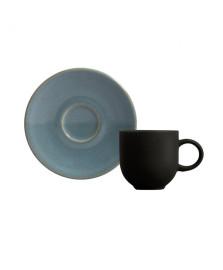 Jogo de xicara p/ Cafe Coup Toneware Lazuli
