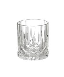 Jogo De 6 Copos Vidro Para Whisky Angle Bon Gourmet 325Ml