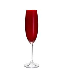 Jogo 6 Taças Cristal Ecológico Para Champagne Gastro/Colibri Rubi 220Ml