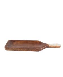 Tabua madeira mango natural 45x13x2cm BON GOURMET