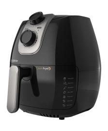 Fritadeira multifuncional sem oleo cook fryer preta 127v cadence
