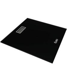 Balanca digital para banheiro preta 28 x 28 cm euro