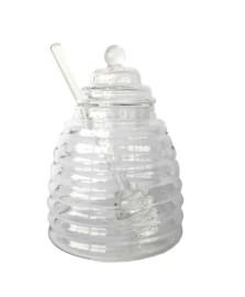 Meleira colmeia vidro borossilicato 300ml mimo style