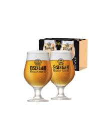 Jogo de 2 Taças de Vidro Eisenbahn Beer Master Ruvolo
