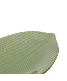 Folha Decorativa de Cerâmica Leaf Verde 24,5 cm LYOR
