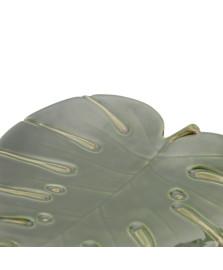 Folha Decorativa de Cerâmica Costela de Adão Leaf Verde LYOR