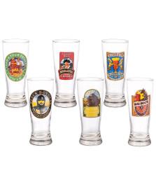 Jogo 06 copos vidro braminha celebration h martin