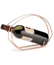 Suporte para vinho bakar revestimento cobre forma