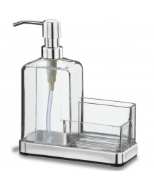 Organizador pia acrílico/aço inox elegance brinox