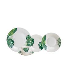 Aparelho de jantar 20 pcs de porcelana tropical
