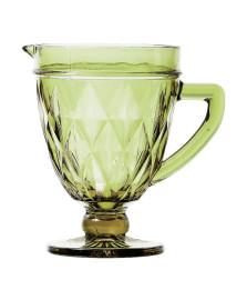 Jarra de vidro 01 l diamond verde lyor