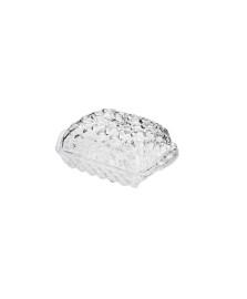 Manteigueira de cristal de chumbo pineapple 16,9 x 8 cm